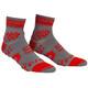Compressport Racing V2 Trail Calze da corsa grigio/rosso